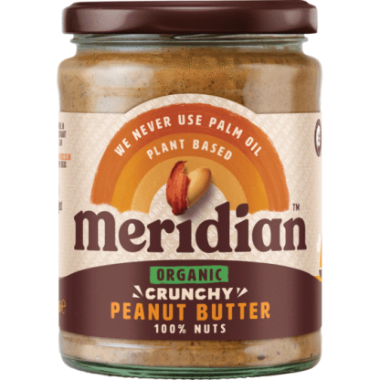 Meridian Crunchy Peanut Butter Organic 470g